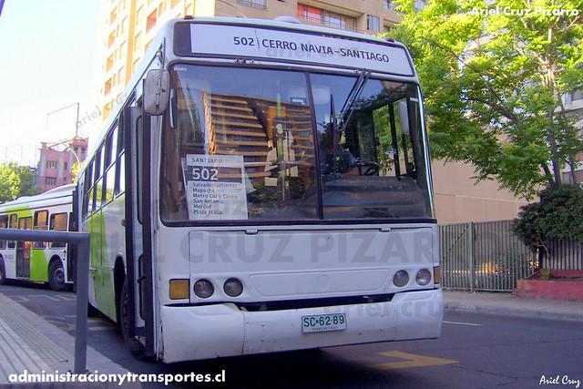 Transantiago - Buses Metropolitana / Metbus - Marcopolo Torino GV / Mercedes Benz (SC6289)