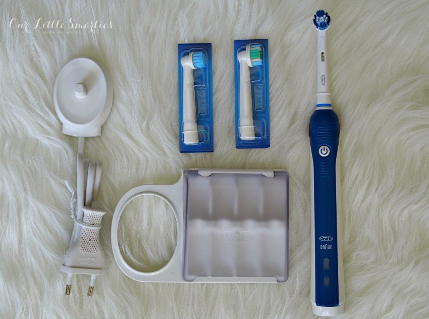 Oral-B power toothbrush