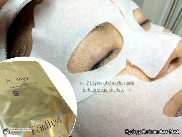 Skin Science Forlled Hyalogy Platinum Face Mask
