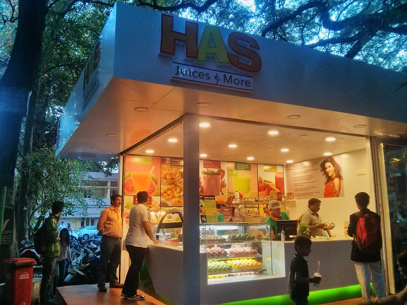 HAS Juices and More (Airlines Hotel Premises, Lavellel Road, Bangalore)