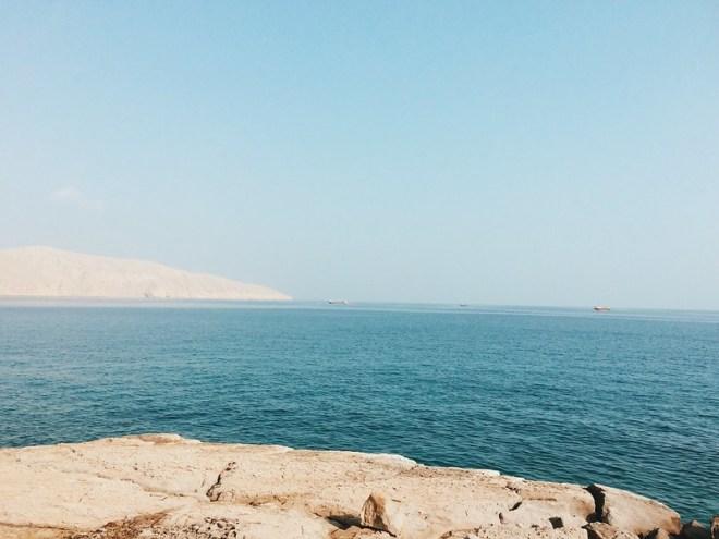 diving @ musandam island