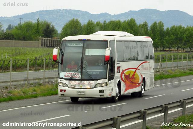Pullman del Sur - San Fernando - Busscar Vissta Buss LO / Scania (WU6506) (166)