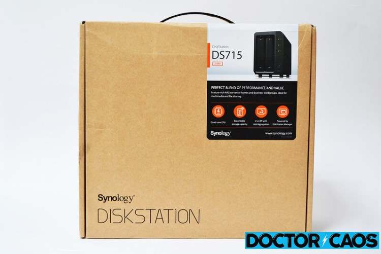 Synology Diskstation DS715 servidor NAS (1)