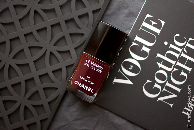 01 Chanel 18 Rouge Noir Ann Sokolova swatches
