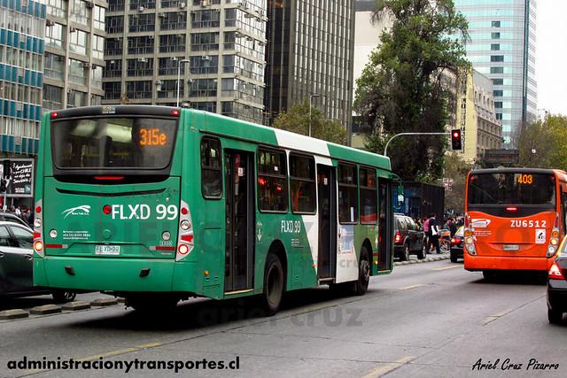 Transantiago - Buses Vule - Caio Mondego H / Mercedes Benz (FLXD99) (1310)