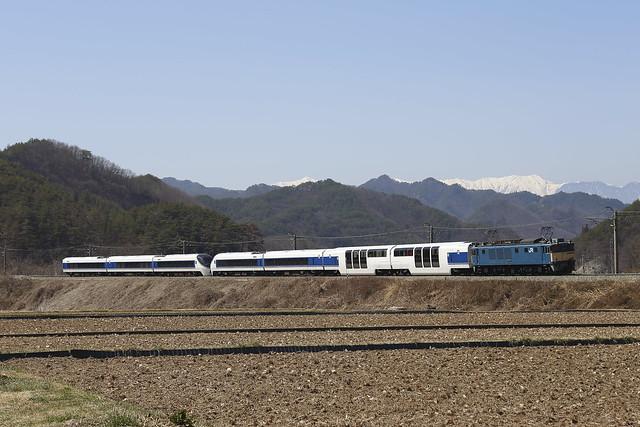 EF64-1006 + Series 371 Transfer for Fuji-kyu