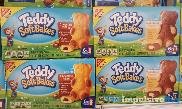 Nabisco Teddy Soft Bakes (Chocolate and Vanilla)