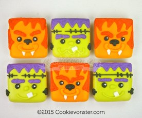 ©Cookievonster2015 Halloween Mini squares