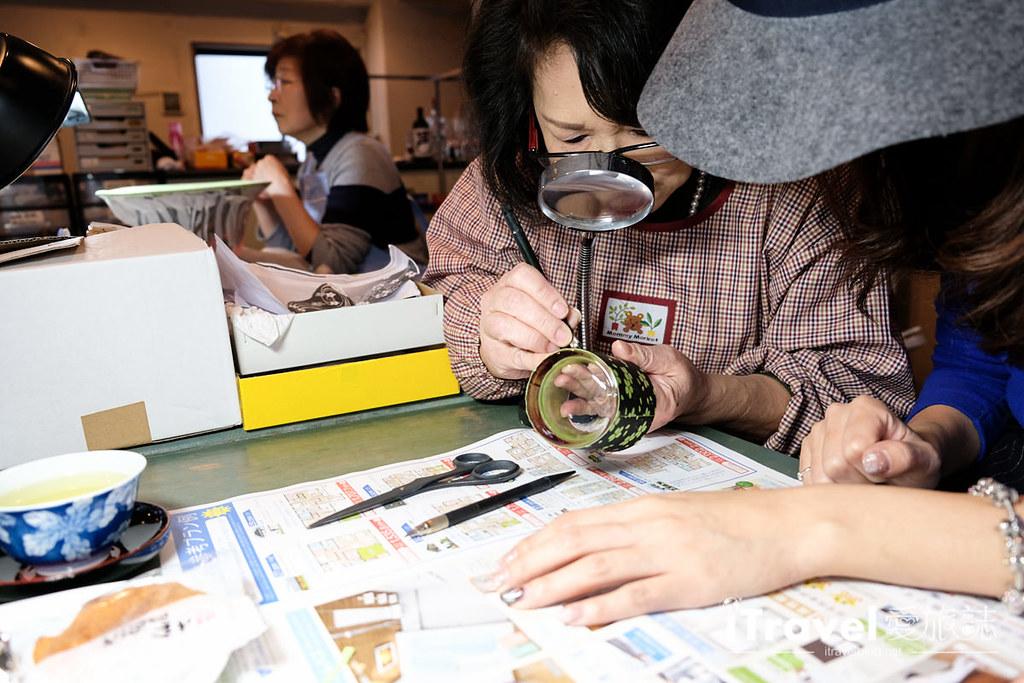东京手作课程 喷砂玻璃工艺体验 43