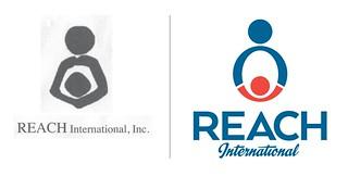 REACH International logo redesign