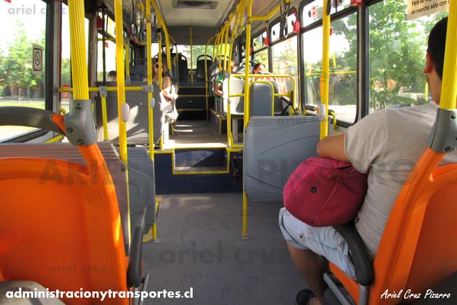 Transantiago - Redbus Urbano - Neobus Mega BRT / Volvo (CJRK42) (1210)