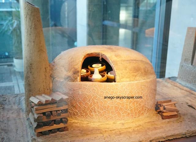 陶瓷博物館の窯のミニチュアその2