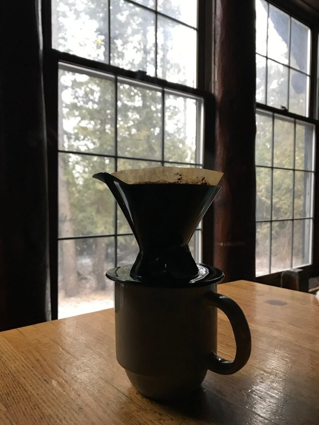 Pour over, slow mornings