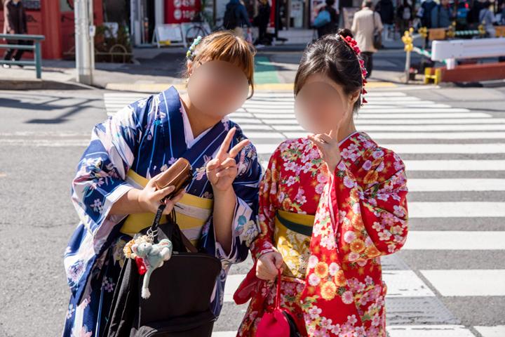 淺草和服體驗 hana kimono 租借推薦 可加購化妝和日式髮型 @ 三貓繪飯 :: 痞客邦