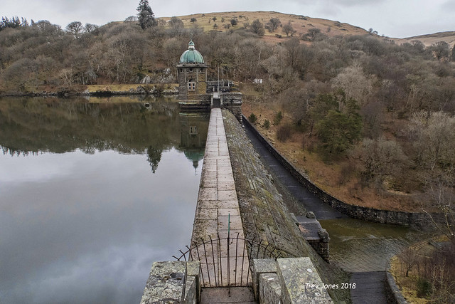 The Elan Valley Dam