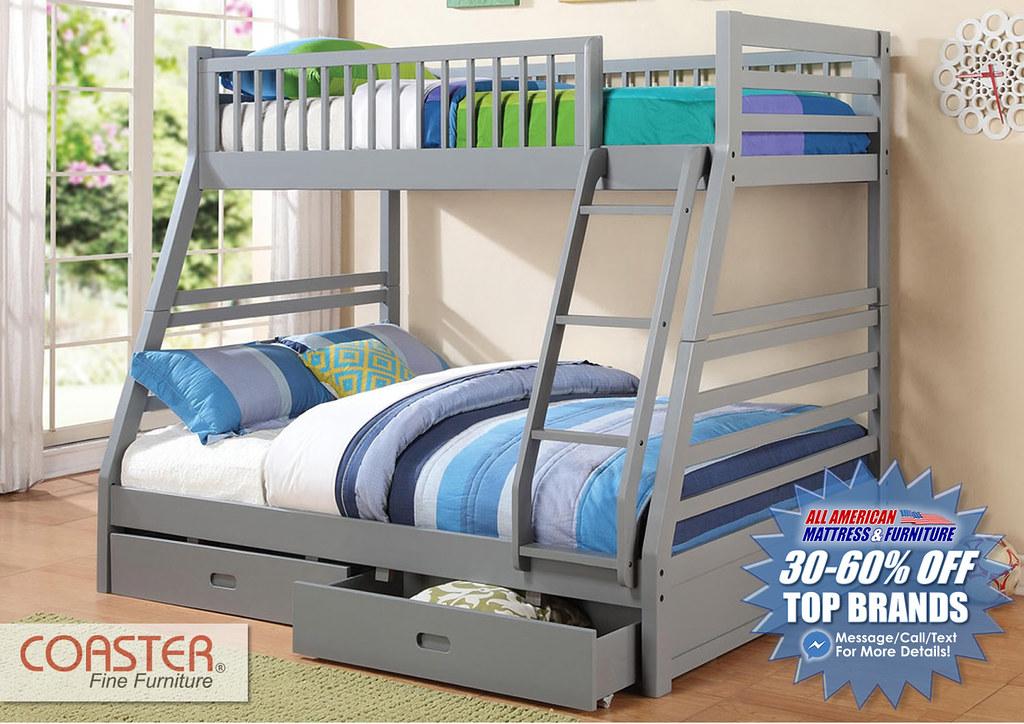 Coaster Gray Bunk_MPS