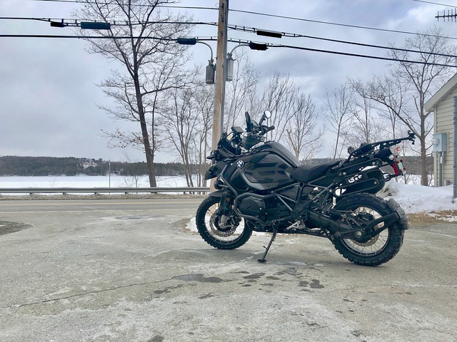 First R1200GS Ride of the Year  2018