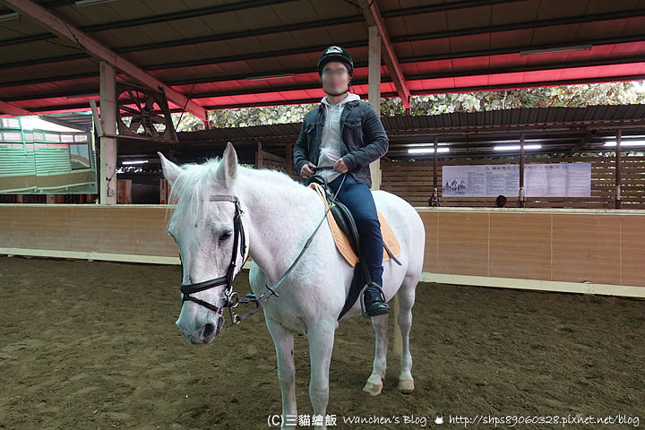 淡水騎馬 綠野馬場 馬術入門初體驗(含課程心得及費用) @ 三貓繪飯 :: 痞客邦