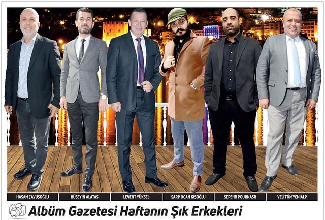 Hasan Çavuşoğlu, Hüseyin Alataş, Levent Yüksel, Sarp Ocan Kışoğlu, Sepehr Pournasr, Velittin Yenialp