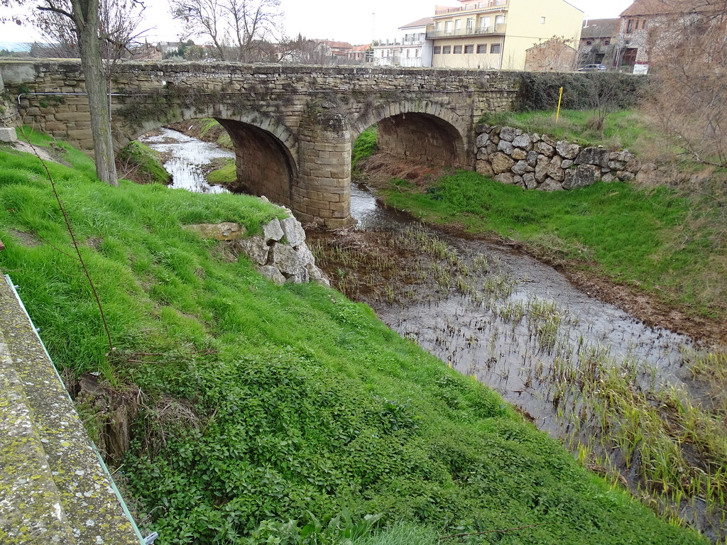 puente rio Odron los Arcos Navarra 03