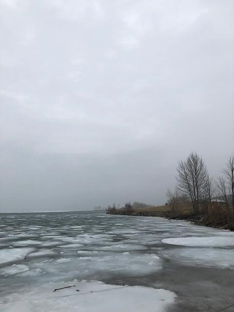 Owen Sound - Ice on Owen Sound