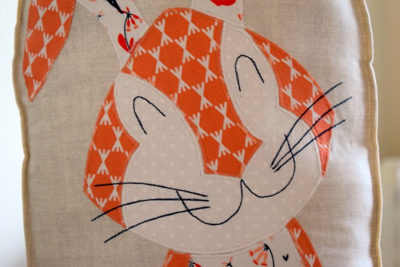 Harriet Hare Cushion