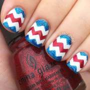 ideas 4th of july nail
