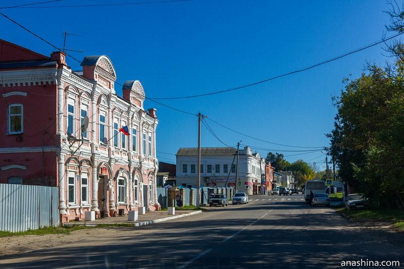 Историческая застройка поселка городского типа Полотняный Завод