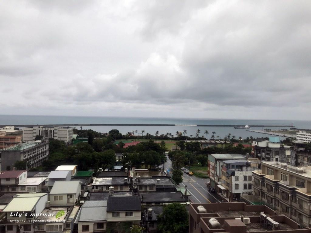 飯店靠海那側隨處可以看到的美景。