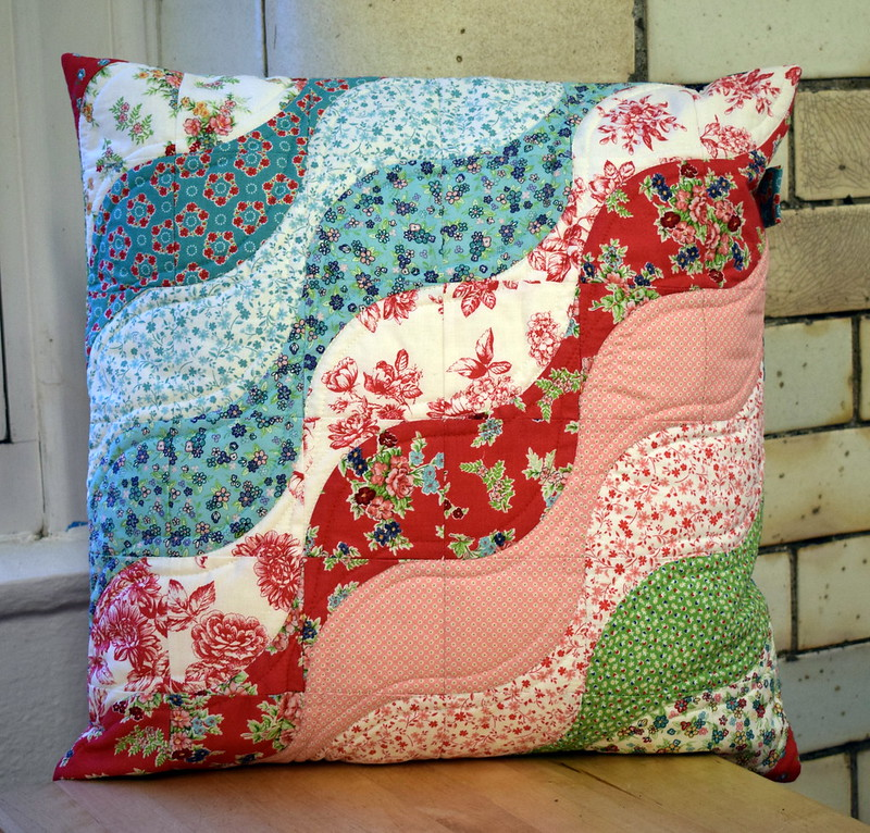 Ripples DP Cushion (class project)