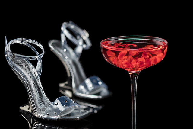 Giuseppe Zanotti Themed Cocktail - Polkadots