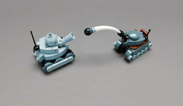 LEGO Mini tanks