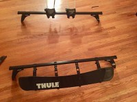 Thule Roof Rack with fairing for 2003-2011 9-3 ...