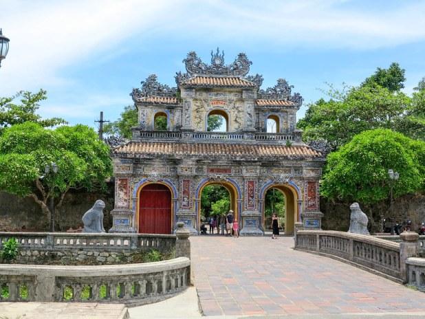 Antigua capital de Vietnam