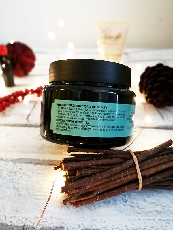 Fuji Green Tea The Body Shop Hair Scrub Review Cruelty Free