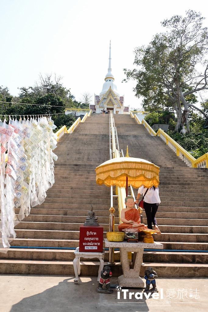 華欣景點推薦 考佬寺Wat Khao Takiap (9)