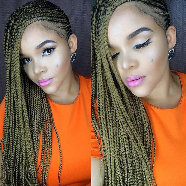 22 Stylish Lemonade Braids For Any Woman Fashion 2D