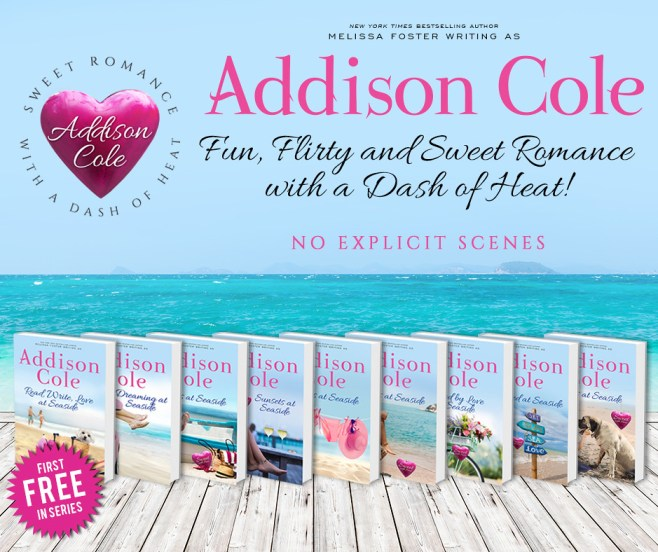 Whispers at Seaside (Sweet with Heat: Seaside Summers) by Addison Cole Book Tour