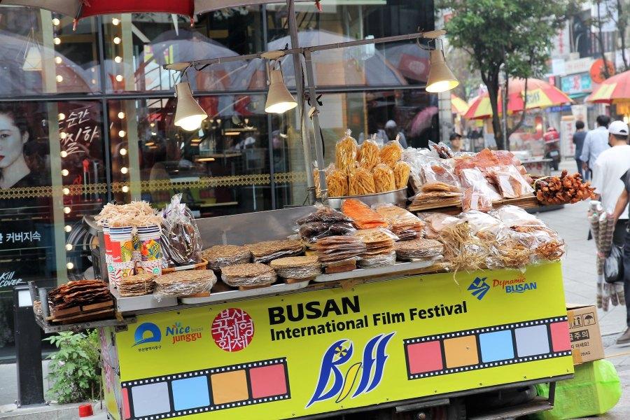 Marché streetfood BIFF Busan