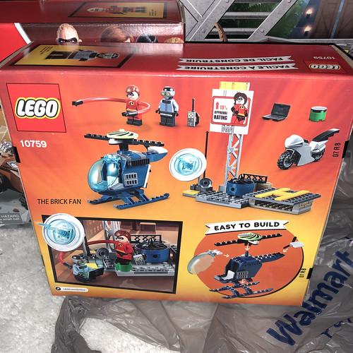 LEGO Juniors Elastigirl's Rooftop Pursuit (10759)