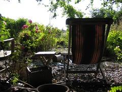 Single Garden Chair