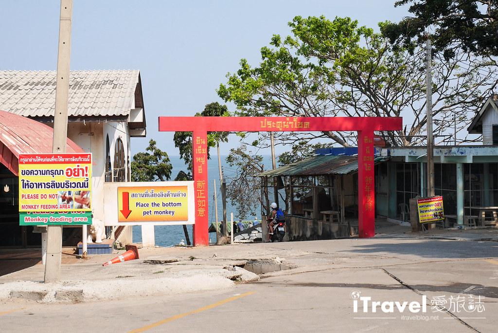 华欣景点推荐 考佬寺Wat Khao Takiap (27)