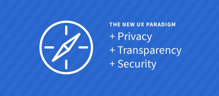 The New UX Paradigm: Privacy, Transparency and Security