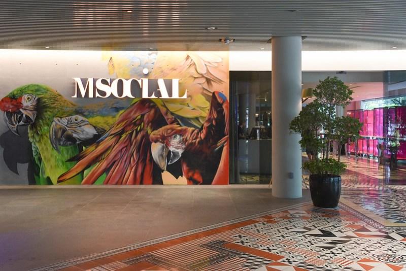 m social singapore entrance