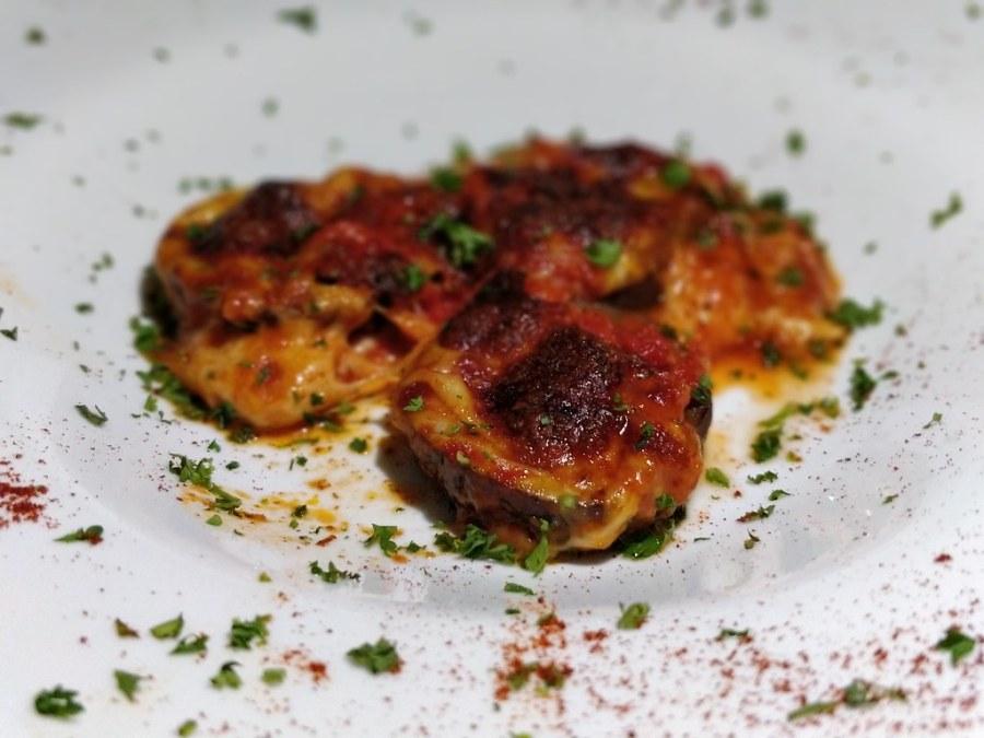 Topolino's Italian Restaurant Hazyview Mpumalanga South Africa eggplant parmesan