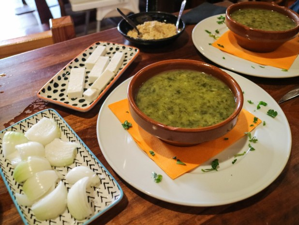 Potaje de berros en La Gomera