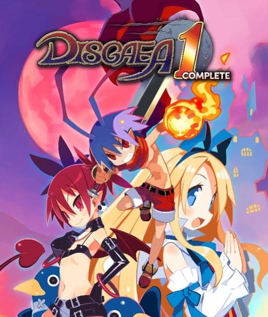 Disgaea 1 Complete Box Art