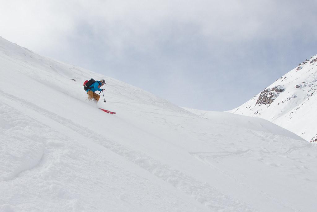 Ak-Suu fresh snow