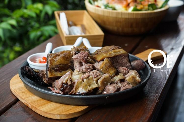 台北東門 M&F深法廚房,深夜裡的法國手工甜點與阿根廷慢烤帶骨牛小排,從主餐到甜點都讓人意猶未盡