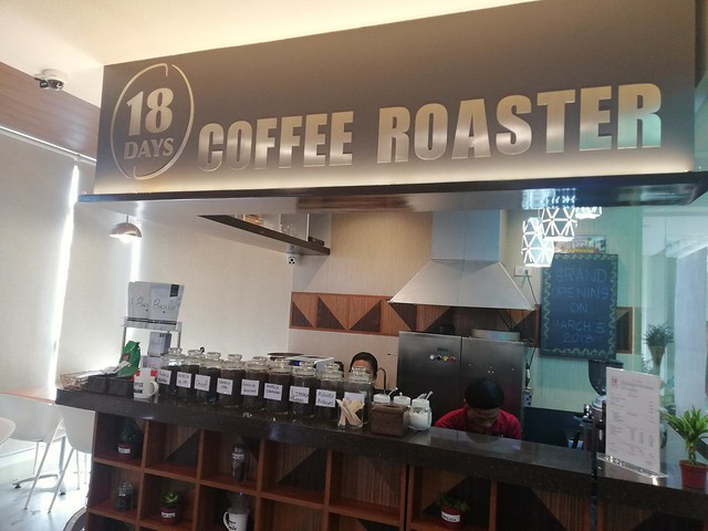 18 Days coffee roaster